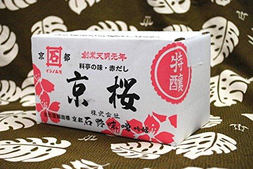 石野味噌(京桜味噌) 業務用2Kg箱