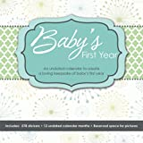 Baby's First Year (Undated) Wall Calendar [並行輸入品]