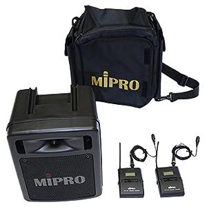 MIPRO MA-303DBT2(ACT32T×2、MU-53L×2、SC-30×1のセット)