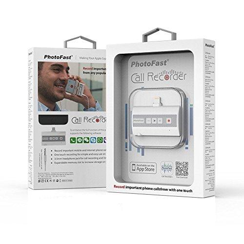 PhotoFast Call Recorder 【iOS対応】 電話とアプリ通話の録音機 ボイスレコーダー