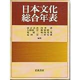 日本文化総合年表