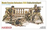 ドラゴン 1/35 第二次世界大戦 ドイツ軍 降下猟兵 モンテカッシーノ防衛線 1944 プラモデル DR6514