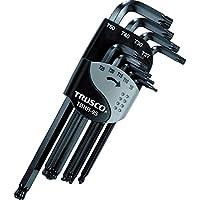 TRUSCO(トラスコ) ボールポイントヘックスローブレンチセット(9本組) TBHR-9S