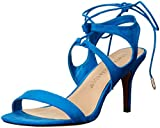 Athena Alexander Women's Shalamar Dress Sandal Blue Suede 7.5 M US [並行輸入品]