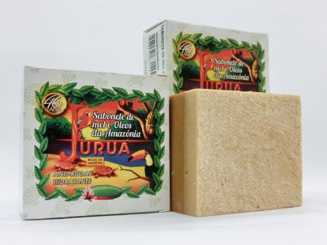レザー戸口樫の木JURUA石鹸 (大180g) 2個セット