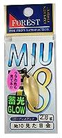 フォレスト(FOREST) スプーン MIU(ミュー)第18弾 2.8g №10 見た目金.