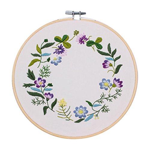 SONONIA 初心者 刺繍 クロスステッチ 刺しゅうキット 工芸 DIY 刺繍ツール 全3スタイル - #1