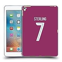 オフィシャルManchester City Man City FC Raheem Sterling 2017/18 プレイヤーズ・アウェーキット グループ1 iPad Pro 9.7 (2016) 専用ソフトジェルケース