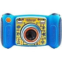 VTech Kidizoom Camera Pix 子供用 デジタルカメラ ピンク ブルー 日本語説明書付き (MicroSD対応) (ブルー) [並行輸入品]