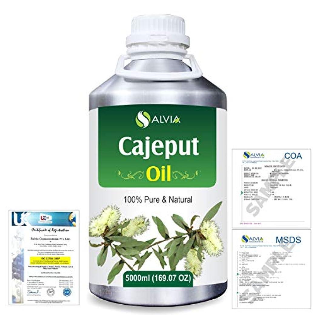 それから立ち向かう立ち向かうCajeput (Melaleuca leucadendron) 100% Natural Pure Essential Oil 5000ml/169fl.oz.