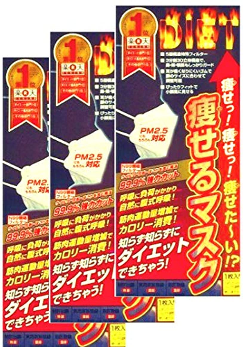 メダル銀行ベルベット【大人気!マスクをするだけで痩せちゃう!?驚きの3個セット!】痩せるマスク × 3個