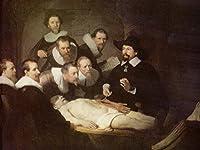 Lais Puzzle レンブラント・ハーメンス。 van Rijn - 博士Ingの解剖学。チューリップ 1000 部