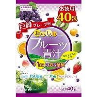 ユーワ おいしいフルーツ青汁1日分の鉄&葉酸(3g*40包)×5個セット