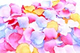 フラワーシャワー 造花 花びら 1200枚セット ハピネス ウェディング ビューティフル パーティー (グラデーション フォー ドリームズ)