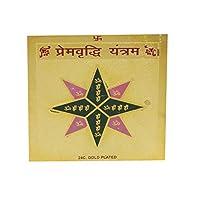 CreativeGifts Prem virdhiヤントラ+ Rudrakshaブレスレット( yantr-45)