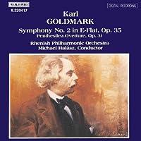 GOLDMARK Karoly Symphony No. 2, Op. 35 / Penthesilea, Op. 31
