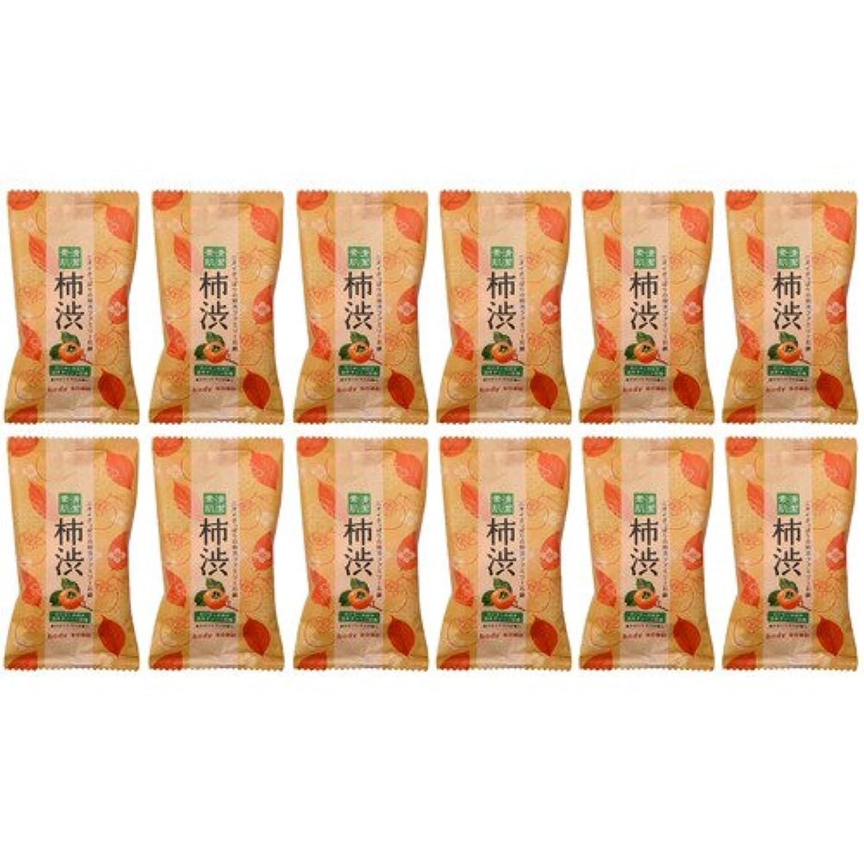 とティーム初期の瞑想的ペリカン ファミリー柿渋石鹸 30g 12個入り