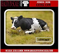 Reality in Scale 1 : 35 Lying Cow – Resin Diorama Accessory # 35218