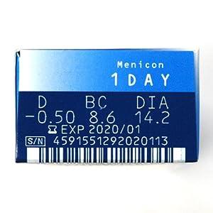 メニコン1DAY 【BC】8.6【PWR】-3.00 30枚入