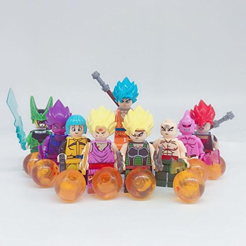LEGO レゴ 互換 ドラゴンボール風 ミニフィグ 9体 セット