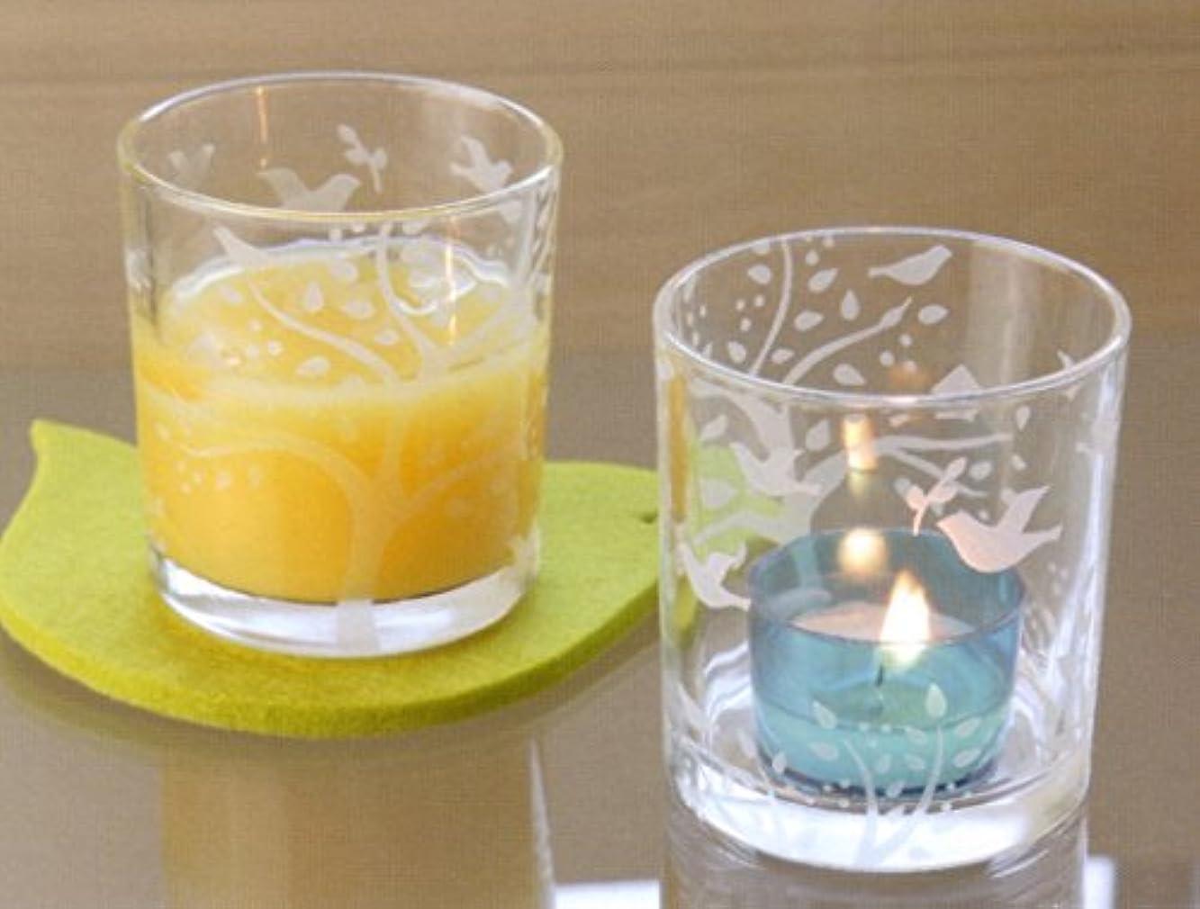 砂の包帯反動エッチンググラス オードリー キャンドルホルダー