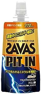 ザバス ピットイン エネルギージェル 栄養ドリンク風味 69g×8個