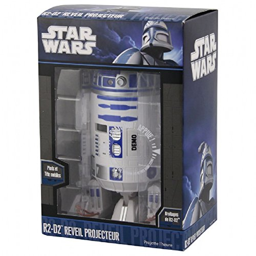 Star Wars R2D2 Projection Alarm Clock ...
