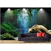 Mingld 現代のカスタムホームデコレーション自然風景の背景森林壁紙公園屋内写真-350X250Cm