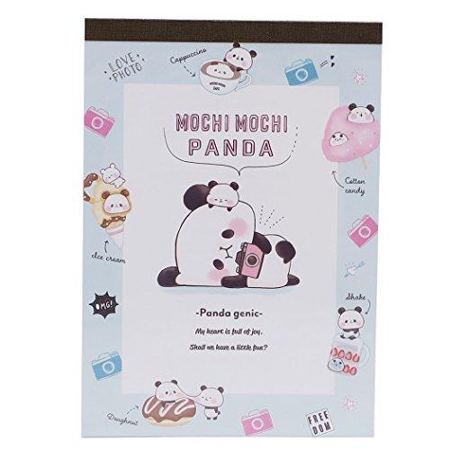 [해외]떡 팬더 메모장 A6 메모 | 카메라 카미 오 재팬 문구 캐릭터 상품 판매/Momochi Panda [Notepad] A6 Memo | Camera Camio Japan Stationary Anime Toy Store Mail Order