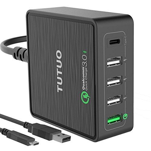 TUTUO QC 3.0 + Type-C USB急速充電器...