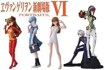 ヱヴァンゲリヲン新劇場版 PORTRAITS6 1BOX (食玩)