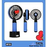 BT21 キャラクターHANDY FAN (BT21 ミニ扇風機) BTS-防弾少年団 コラボ公式商品 バンタン bts 公式グッズ タイプ TATA