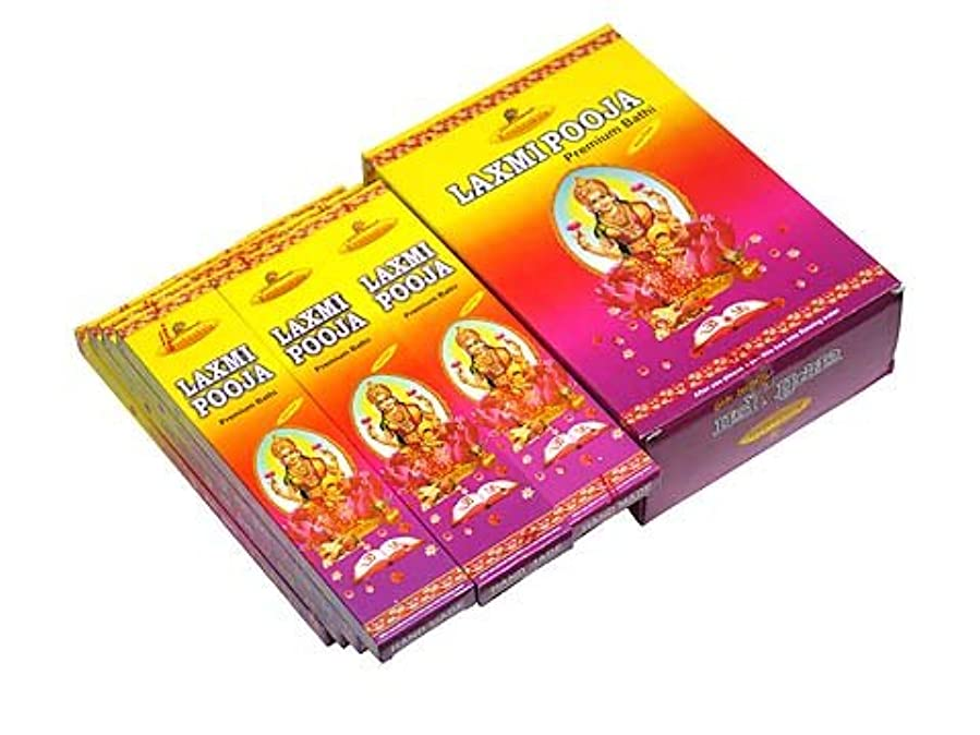 振る舞うフレア暴力的なA-RAVI RAG(エーラビ ラグ) ラクシュミプージャ香 レギュラーボックス スティック LAXMIPOOJA REG BOX 12箱セット