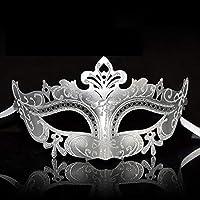 マスク マスク年次ミーティングパーティープリンセスマスク大人のハーフフェイス感情的なフェイシャルマスキングパーティーマスク女性 (色 : A)
