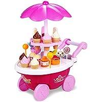 おままごと セット 音と光の出る アイスクリーム屋 女の子 おもちゃ お会計 お店屋さん 子供能力を育てる 知育玩具 お誕生日プレゼント