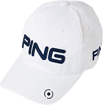 PING(ピン) 6パネル アンストラクチャー ツアー P.Y.B (33850) (ホワイト/ネイビー)