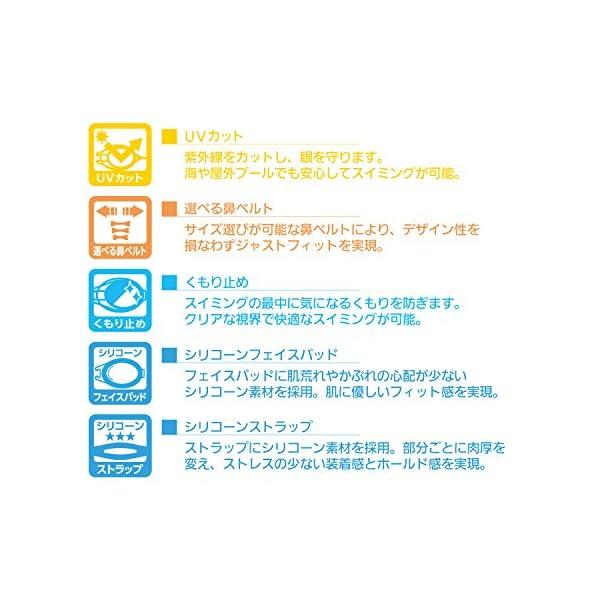 ビュー(VIEW) スイミング ゴーグル クリ...の紹介画像5
