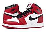 [ナイキ]NIKE AIR JORDAN 1 RETRO HIGH OG GS WHITE/BLACK/VARSITY RED 【CHICAGO】 [並行...