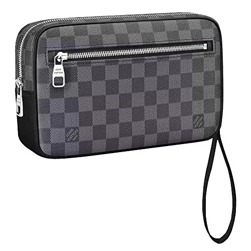 ルイヴィトン バッグ 鞄 かばん LOUIS VUITTON 新品 メンズ セカンドバッグ ポシェット・カサイ ダミエ・グラフィット N41664