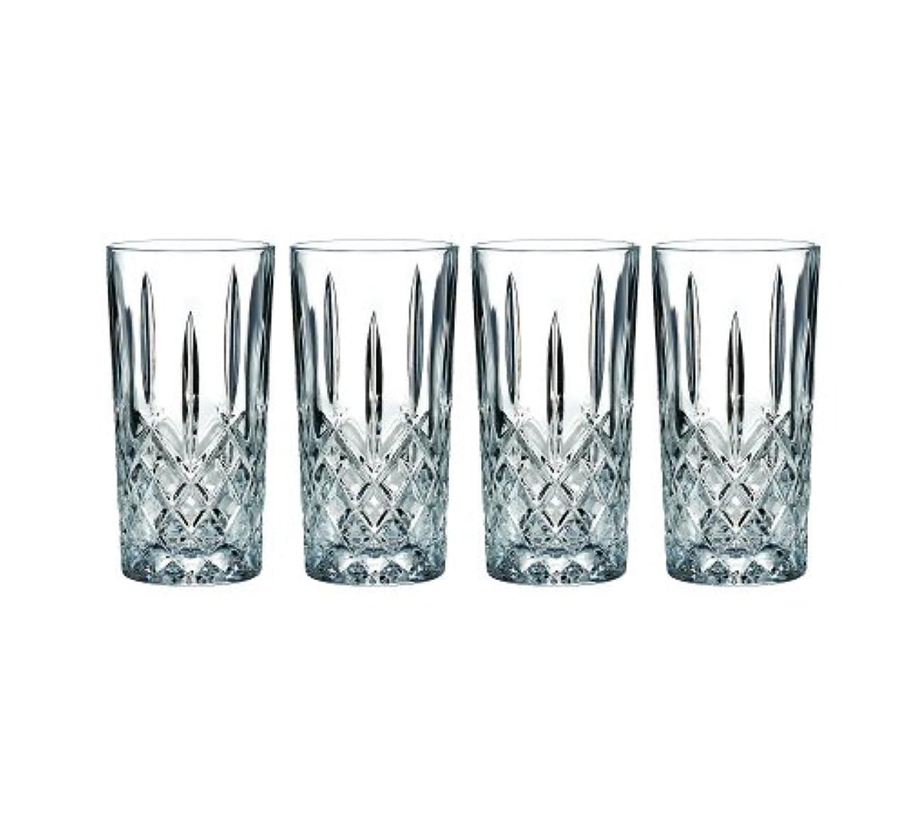 許容できるオーチャードブリリアントMarquis by Waterford Markham Hiball Collins Glasses, Set of 4 by Marquis By Waterford