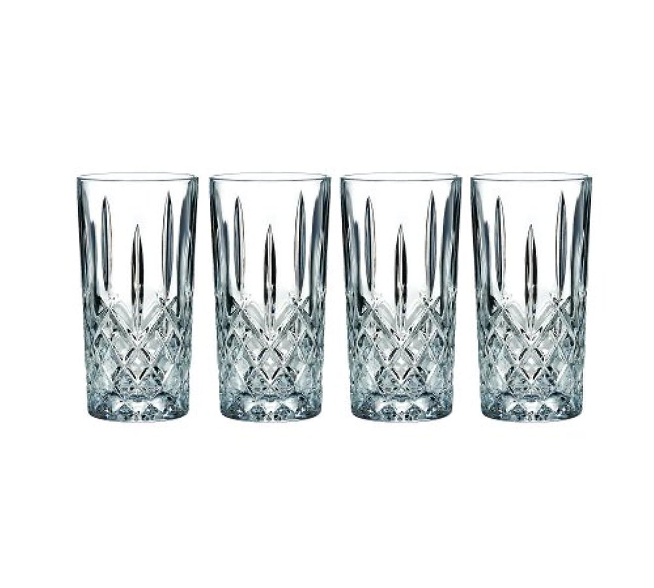 トランスミッション振り子踊り子Marquis by Waterford Markham Hiball Collins Glasses, Set of 4 by Marquis By Waterford