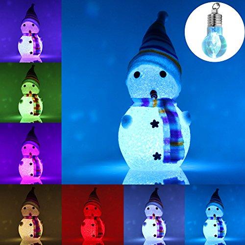 RoomClip商品情報 - Meiqils LED雪だるま形のハロウィン飾りライト、 パーティー、子供部屋飾りライト電池式