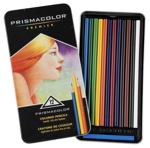 サンフォード プリズマカラー色鉛筆 12色セット