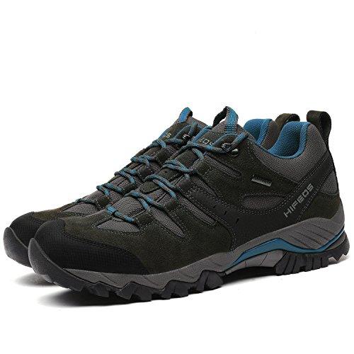 bf0c30ab2bbc4e ... [HIFEOS]トレッキングシューズ メンズ レディース 防水 ローカット 登山靴 28.0cmまで 大きいサイズ ...