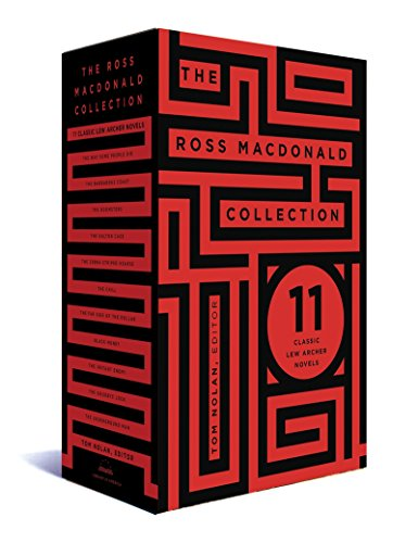 Download The Ross Macdonald Collection: 11 Classic Lew Archer Novels: A Library of America Boxed Set (Lew Archer: The Library of America, 264-279-295) 1598535528