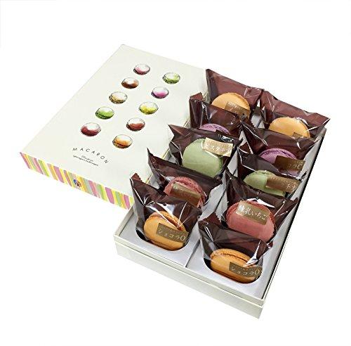 プレミアムマカロン ギフト(10個入) オリジナル化粧箱 天然由来着色料使用