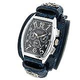 [アンドミート]...andMeat. 腕時計 腕時計 パイソン ブルー ホワイト×ブラック ADM-WWB-W-02P 国内正規品 人気 ブランド メンズ