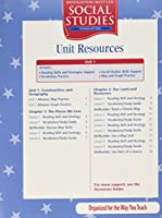 Communities, Unit Resources Folders With Tae and Teacher Guide Level 3: Houghton Mifflin Social Studies
