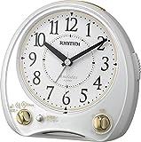 RHYTHM(リズム時計) 高音質メロディ38曲搭載目覚し アリアカンタービレ 白色 4RM763SR03