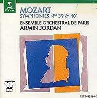Sinfonia n.40 K 550 in sol (1788) Sinfonia n.39 K 543 in MI (1788)